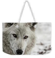 White Wolf II Weekender Tote Bag