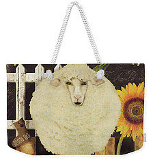 White Wool Farms Weekender Tote Bag
