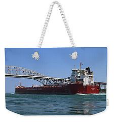Whitefish Bay And Blue Water Bridge 2 Weekender Tote Bag