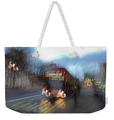 Weekender Tote Bag featuring the photograph Whitehall by Alex Lapidus