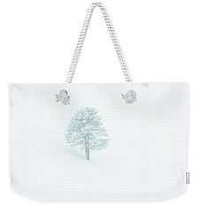 Whiteout Weekender Tote Bag
