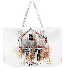 Whiteout In Opequon Weekender Tote Bag