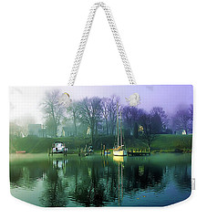 Weekender Tote Bag featuring the photograph White's Cove Awakening by Brian Wallace