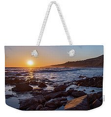 White's Point Sunset Weekender Tote Bag by Ed Clark
