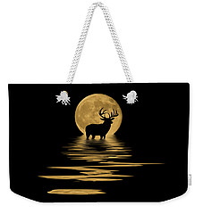 Whitetail Deer In The Moonlight Weekender Tote Bag