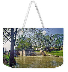 Whitewater Canal Metamora Indiana Weekender Tote Bag