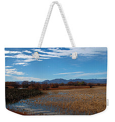 Weekender Tote Bag featuring the photograph Whitewater Draw by James Peterson