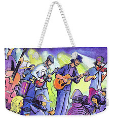 Whitewater Ramble At The Barkley Ballroom Weekender Tote Bag
