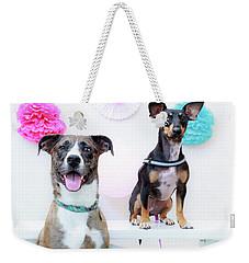 Whitney And Stella Weekender Tote Bag