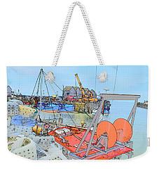 Whitstable Harbour 11 Weekender Tote Bag