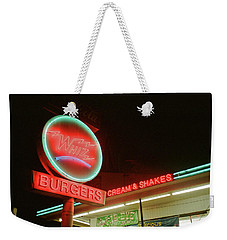 Whiz Burgers Neon, San Francisco Weekender Tote Bag