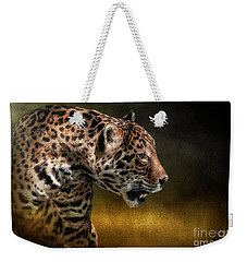 Who Goes There Weekender Tote Bag by Lois Bryan