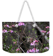 Weekender Tote Bag featuring the photograph Who Put The Wild In Wildflowers by Skip Willits
