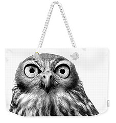 Whoo You Callin A Wise Guy Weekender Tote Bag