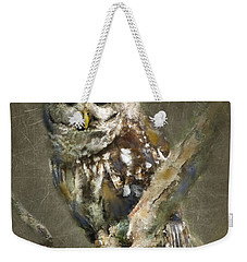 Whoooo Weekender Tote Bag by Betty LaRue