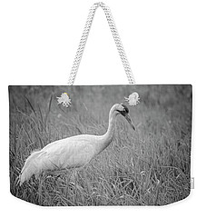 Whooping Crane 2017-4 Weekender Tote Bag by Thomas Young