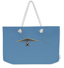 Whooping Cranes And Operation Migration Ultralight Weekender Tote Bag