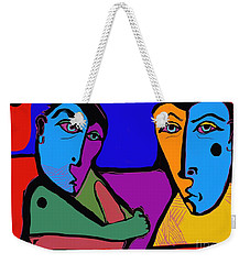 Who's Doing This? Weekender Tote Bag