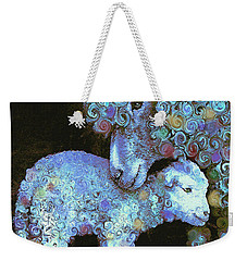 Whose Little Lamb Are You? Weekender Tote Bag by Jane Schnetlage