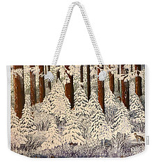 Whose Woods These Are I Think I Know Weekender Tote Bag