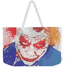 Why So Serious Weekender Tote Bag by Dan Sproul