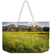 Wichita Mountain Wildflowers Weekender Tote Bag by Tamyra Ayles