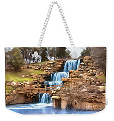 Wichita Falls Weekender Tote Bag by Ricky Dean