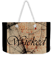 Wicked Weekender Tote Bag by Cynthia Powell