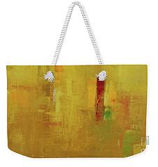 Wide Abstract D Weekender Tote Bag