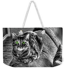 Wide Eyes Weekender Tote Bag