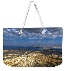 Wide View From Masada Weekender Tote Bag