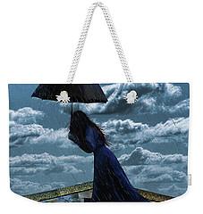 Widow In The Rain Weekender Tote Bag