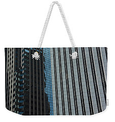 Widy City Perspective 1 Weekender Tote Bag by Michael Nowotny