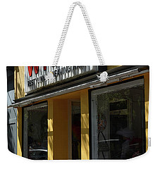 Weekender Tote Bag featuring the photograph Wigs by Skip Willits