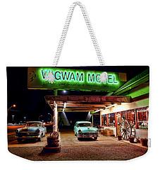 Wigwam Motel Weekender Tote Bag