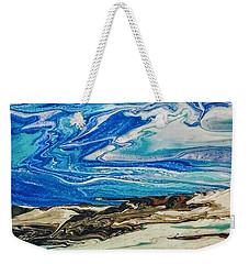 Wiinter At The Beach Weekender Tote Bag