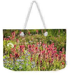 Wild About Wildflowers Weekender Tote Bag