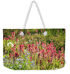 Wild About Wildflowers Weekender Tote Bag