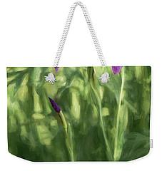 Wild Alaskan Iris II Weekender Tote Bag