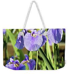 Wild Alaskan Irises IIi Weekender Tote Bag