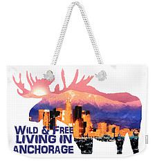 Wild And Free Weekender Tote Bag by Elaine Ossipov