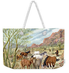Wild And Free Forever Weekender Tote Bag