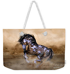 Wild And Free Horse Art Weekender Tote Bag