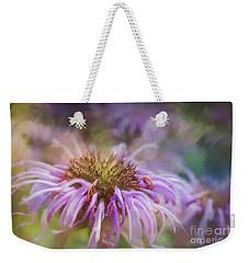 Wild Bergamot Weekender Tote Bag
