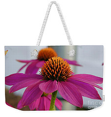 Wild Berry Coneflower Weekender Tote Bag
