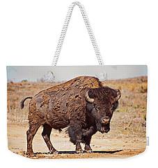 Wild Bison Weekender Tote Bag