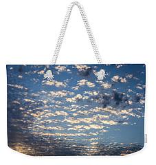 Wild Blue Sunset Weekender Tote Bag