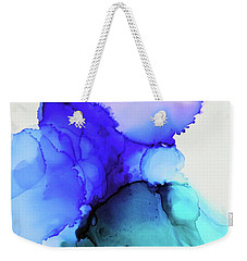 Wild Blue Yonder Weekender Tote Bag by Tracy Male