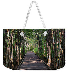 Wild Boardwalk Weekender Tote Bag by Kenneth Albin