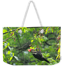 Wild Cherry Snack Weekender Tote Bag